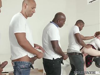 Private Black - Cute Teen Linda Sweet Fucks 4 Dark Dicks!